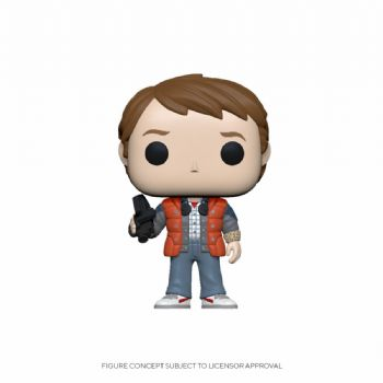Funko Pop! Vinyl Back to the Future Marty McFly 1985 Figure - Pre-Order